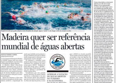 Madeira quer ser Referência mundial de águas abertas - Diário de Notícias da Madeira